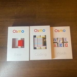 Osmo Base, Coding and Words for the IPad